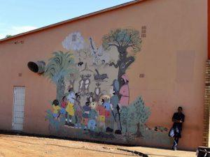 Olifantshoek Beautiful Wall Murial