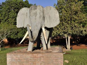 Olifantshoek Elephant Monument