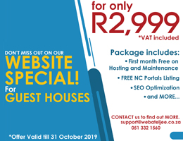 Website Special for Guest Houses | Olifantshoek Accommodation, Business & Tourism Portal